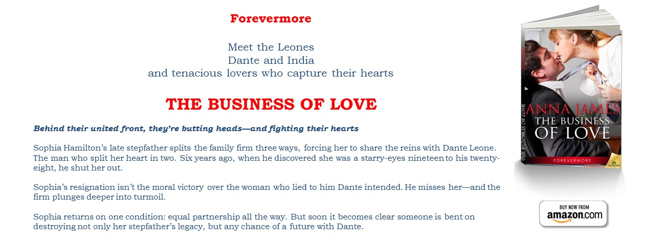 Now Available: THE BUSINESS OF LOVE - Book 1 Forevermore Series