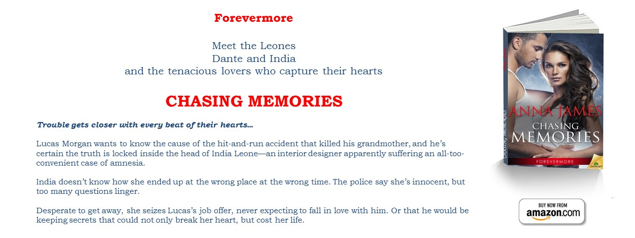 Now Available: CHASING MEMORIES - Book 2 Forevermore Series