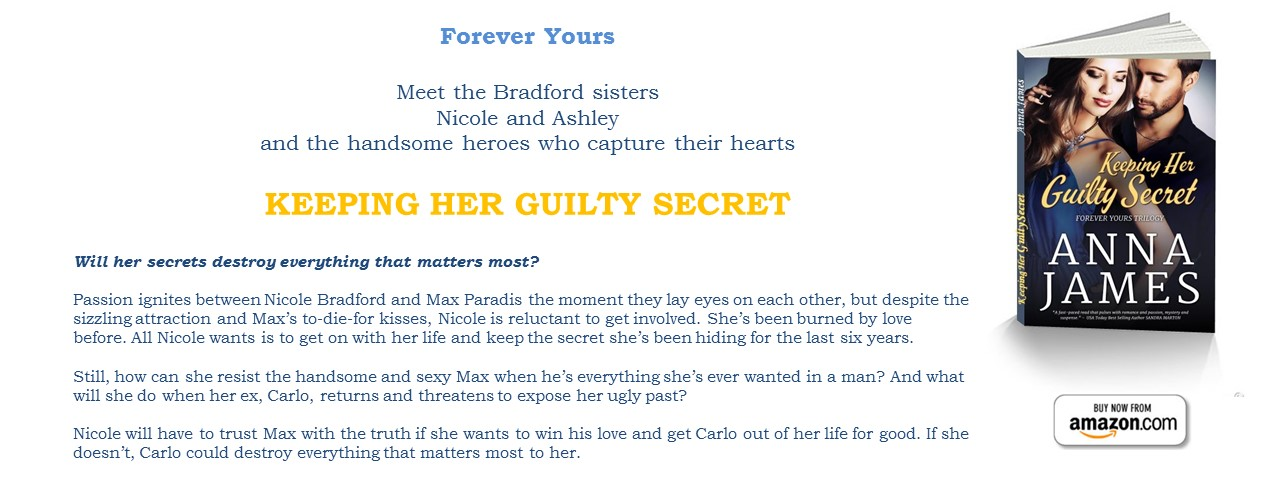 Now Available: KEEPING HER GUILTY SECRET - Book 1 Forever Yours Trilogy