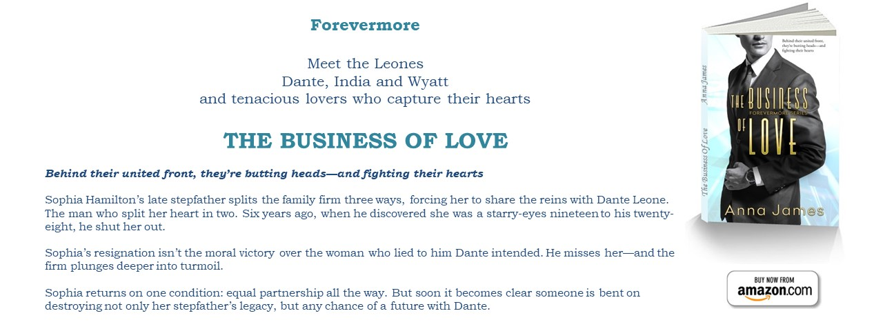 Now Available: THE BUSINESS OF LOVE (Forevermore Book 1)
